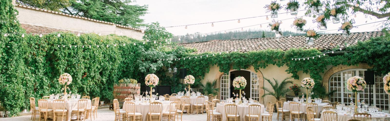La collection des mariages : nos menus dîners de mariage